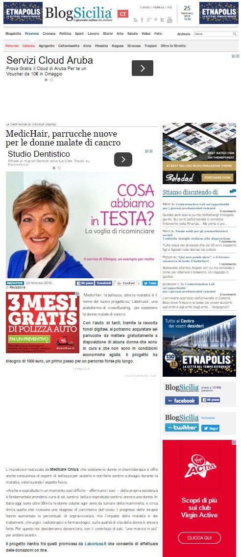 Blog Sicilia  Medic Hairpng