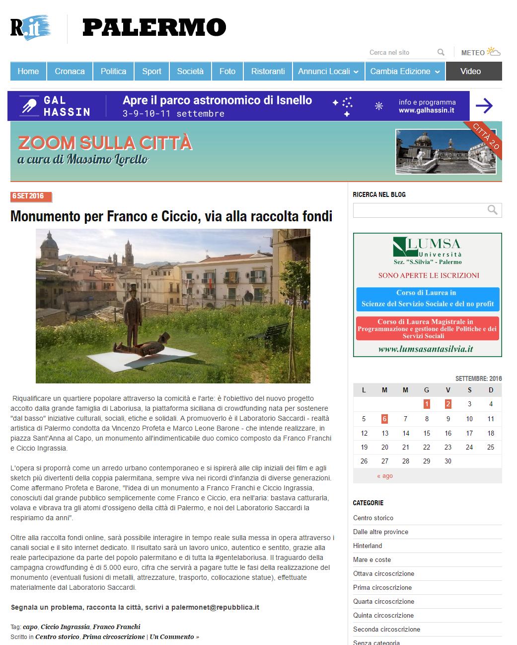 Zoom sulla città   Blog   Palermo   Repubblica.it